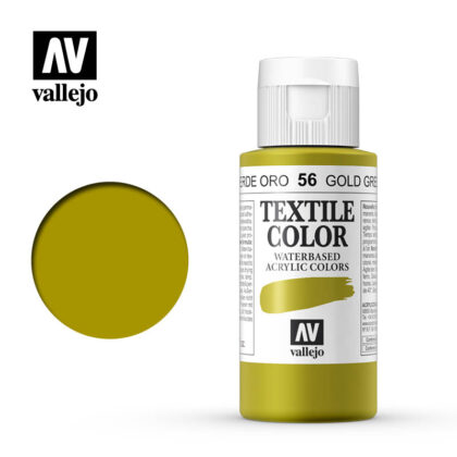 textile color vallejo gold green 56 60ml