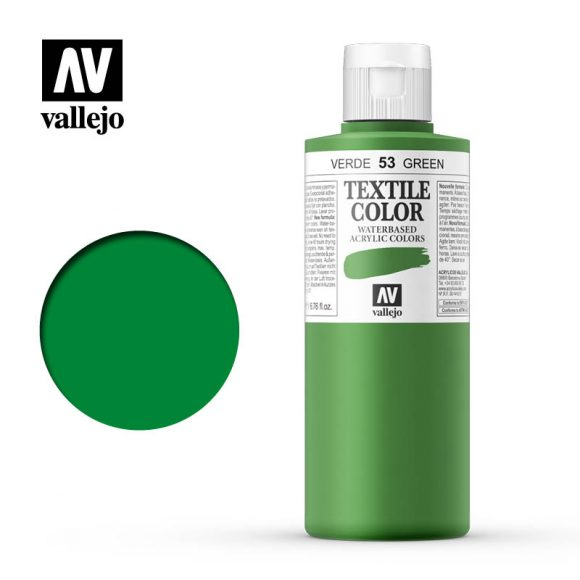 textile color vallejo green 53 200ml
