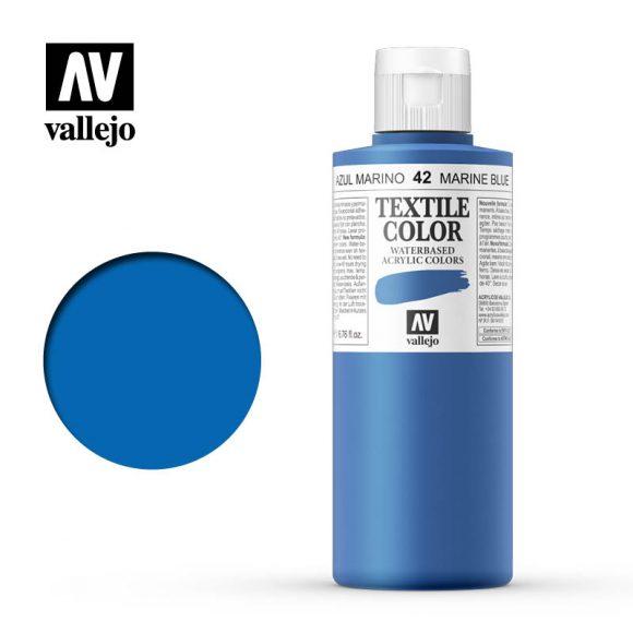 textile color vallejo marine blue 42 200ml