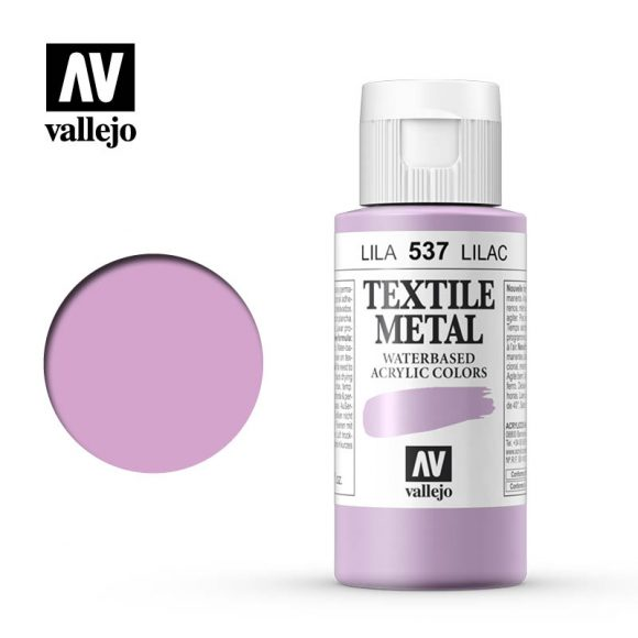 textile color vallejo metallic lilac 537 60ml
