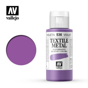textile color vallejo metallic violet 536 60ml