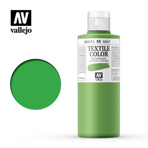 textile color vallejo mint 55 200ml
