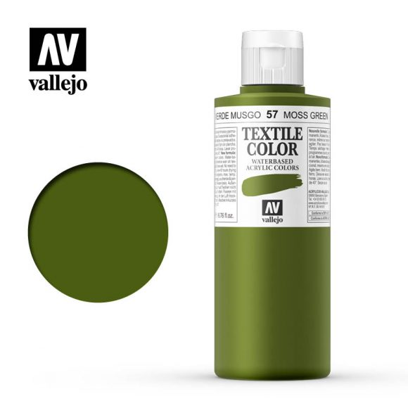 textile color vallejo moss green 57 200ml