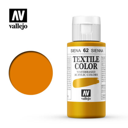 textile color vallejo sienna 62 60ml