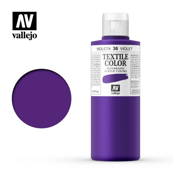 textile color vallejo violet 36 200ml