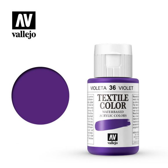 textile color vallejo violet 36 35ml