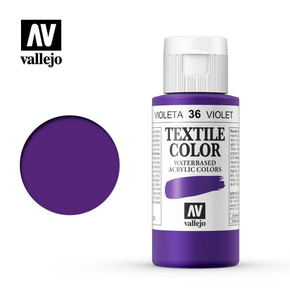 textile color vallejo violet 36 60ml