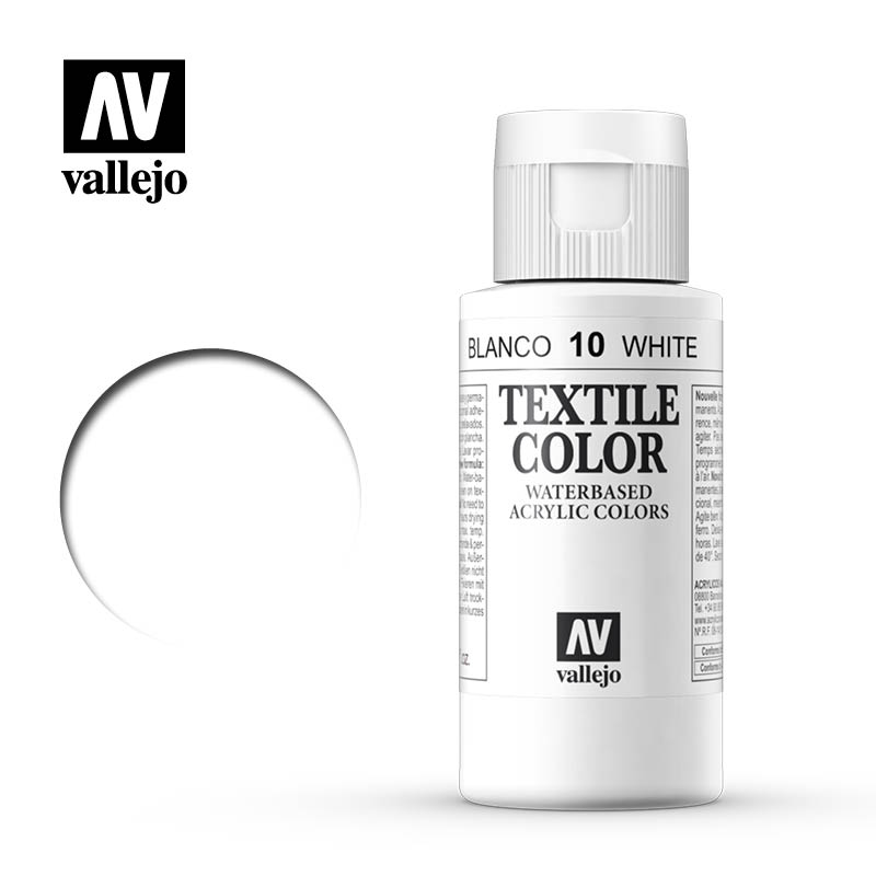 Textile color vallejo white 10 60ml