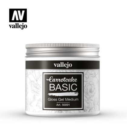 vallejo carrotcake basic gloss gel medium 56891