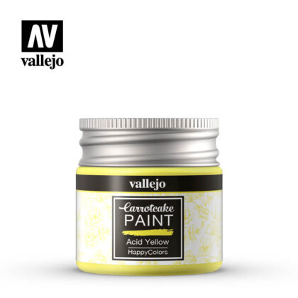 vallejo carrotcake paint acid yellow 56418