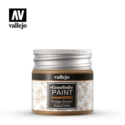 vallejo carrotcake paint fudge brown 56420