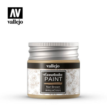 vallejo carrotcake paint nut brown 56430