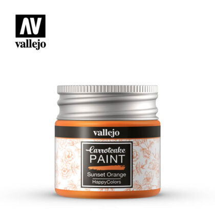 vallejo carrotcake paint sunset orange 56419
