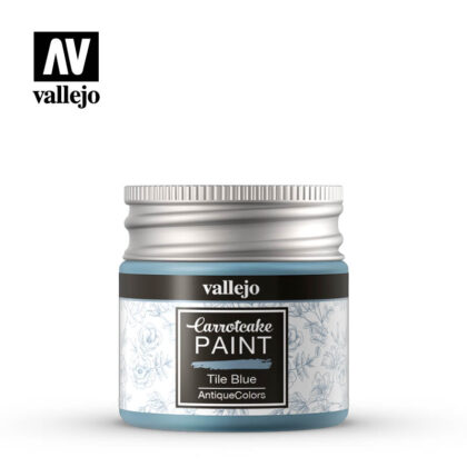 vallejo carrotcake paint tile blue 56426