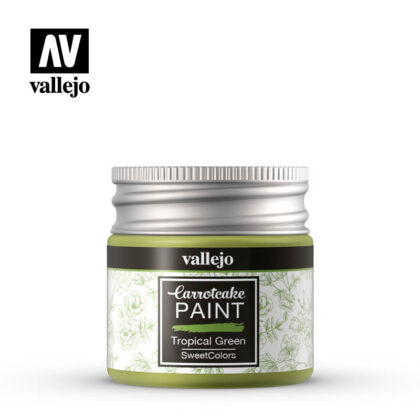 vallejo carrotcake paint tropical green 56411