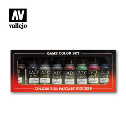 Vallejo Effects Set Game Color washes 73998