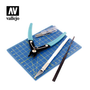 vallejo hobby tools plastic modeling tool set T11001