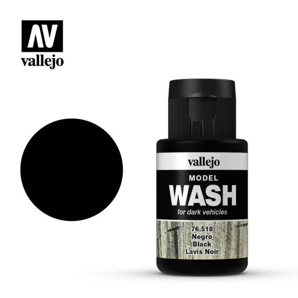 vallejo model wash black 76518