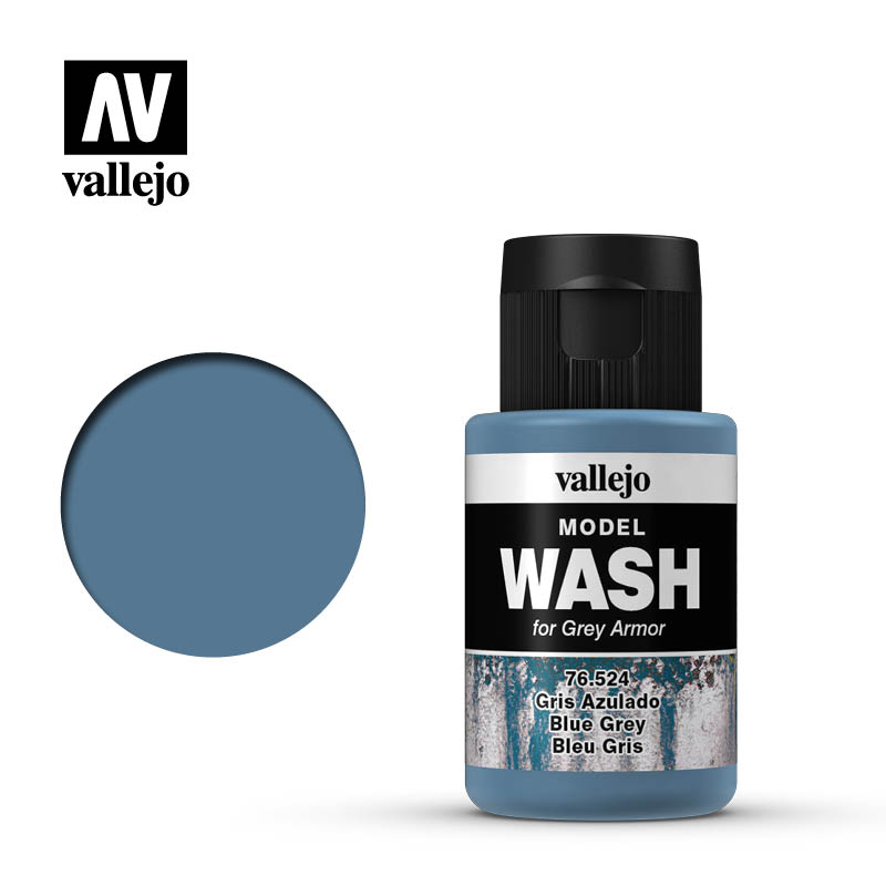 vallejo model wash blue grey 76524