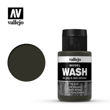 vallejo model wash dark grey 76517