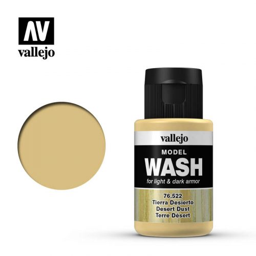 vallejo model wash desert dust 76522