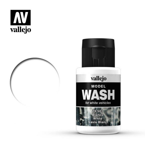 vallejo model wash white 76501