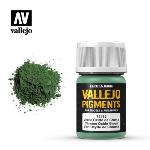 vallejo pigment chrome oxide green 73112