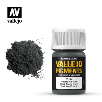 vallejo pigment dark slate grey 73114
