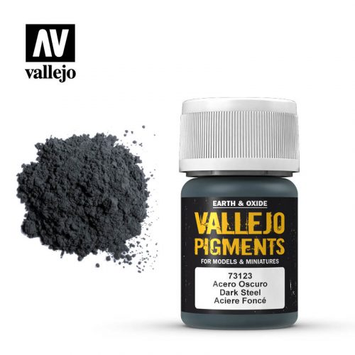 vallejo pigment dark steel 73123