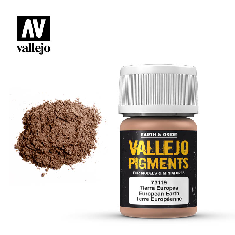 vallejo pigment european earth 73119