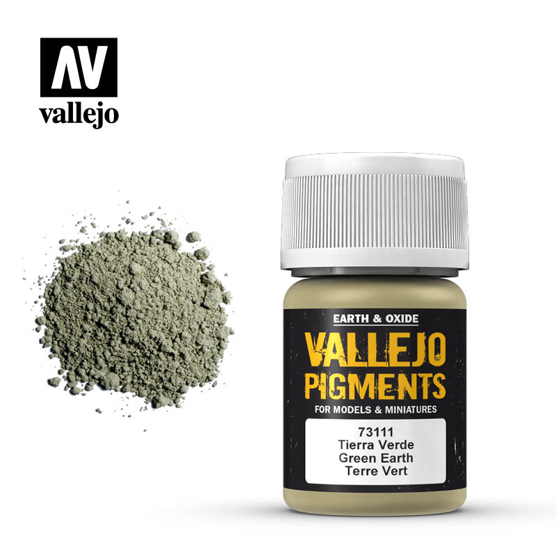 vallejo pigment green earth 73111