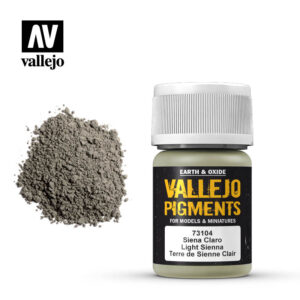 vallejo pigment light sienna 73104