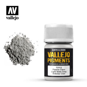 vallejo pigment light slate grey 73113