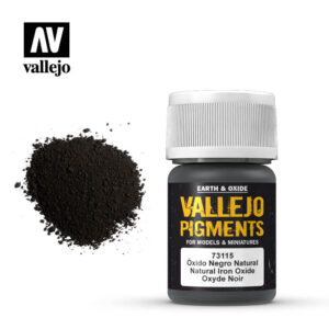 vallejo pigment natural iron oxide 73115