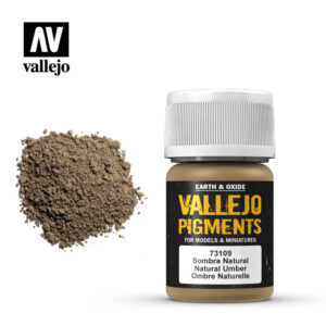 vallejo pigment natural umber 73109
