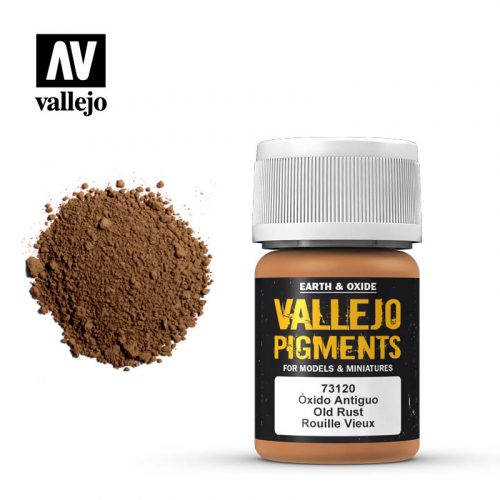vallejo pigment old rust 73120