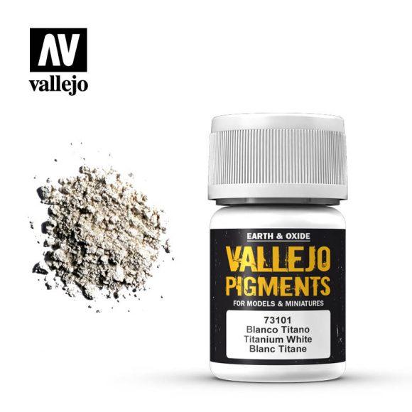 vallejo pigment titanium white 73101