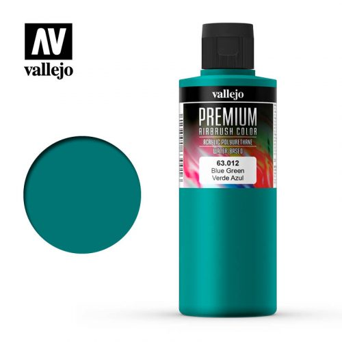 Premium Airbrush Color Vallejo Blue Green 62012