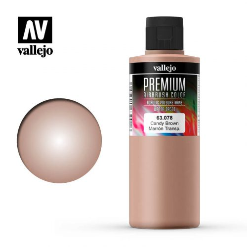 Premium Airbrush Color Vallejo Candy Brown 62078