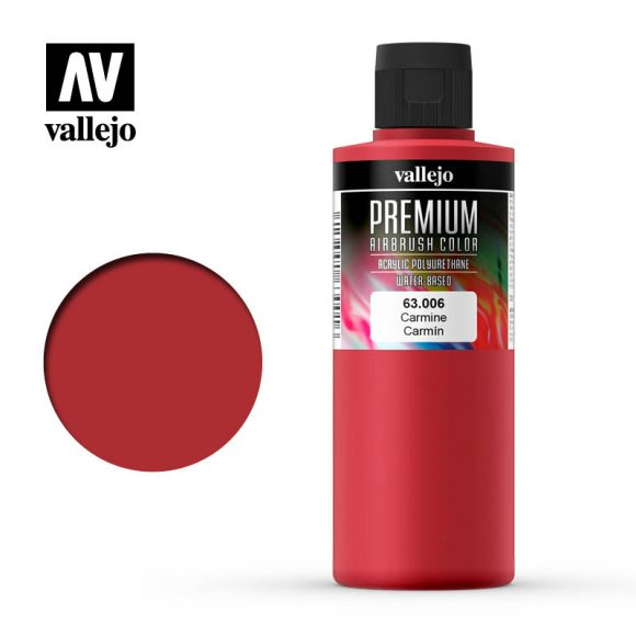 Premium Airbrush Color Vallejo Carmine 62006