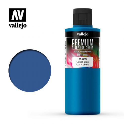 Premium Airbrush Color Vallejo Cobalt Blue 62009