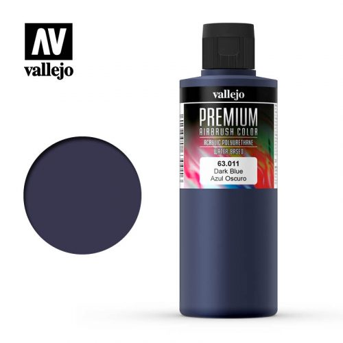 Premium Airbrush Color Vallejo Dark Blue 62011