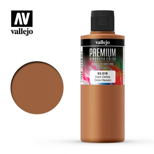 Premium Airbrush Color Vallejo Dark Ochre 62016