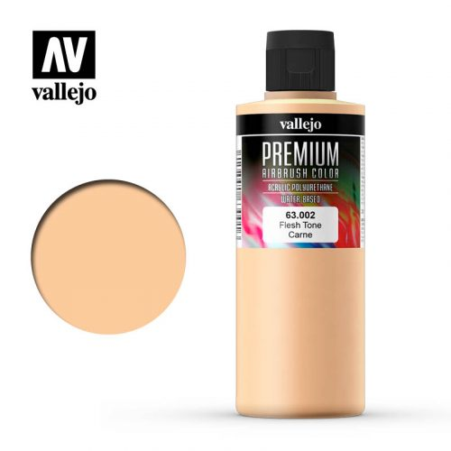 Premium Airbrush Color Vallejo Flesh Tone 62002
