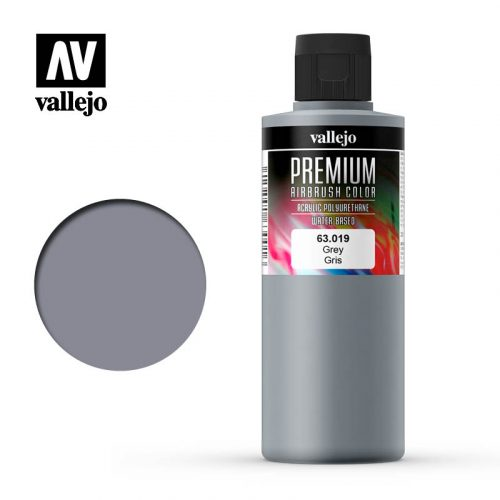Premium Airbrush Color Vallejo Grey 62019