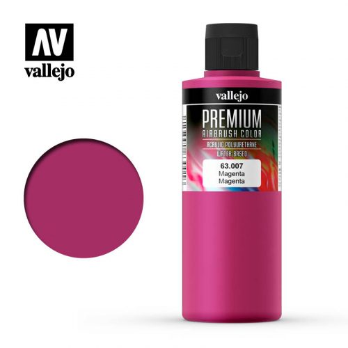 Premium Airbrush Color Vallejo Magenta 62007