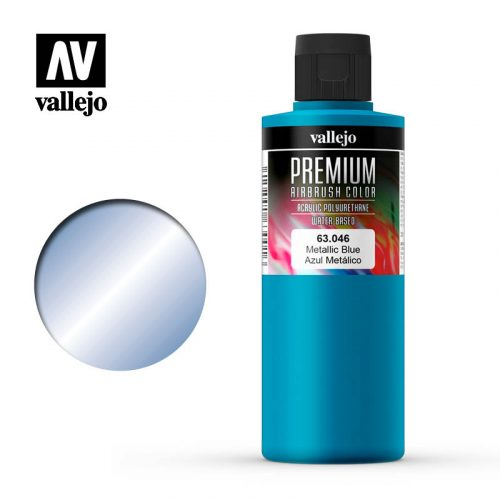 Premium Airbrush Color Vallejo Metallic Blue 62046