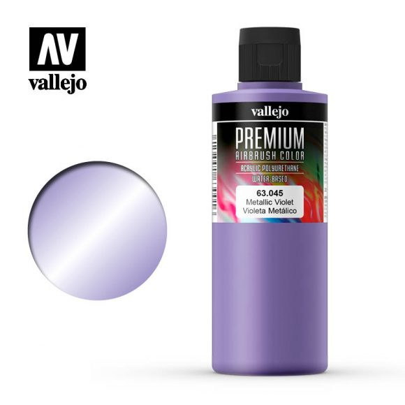 Premium Airbrush Color Vallejo Metallic Violet 62045