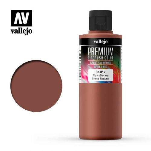 Premium Airbrush Color Vallejo Raw Sienna 62017