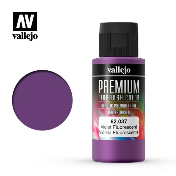 Premium Airbrush Color Vallejo Violet Fluorescent 62037